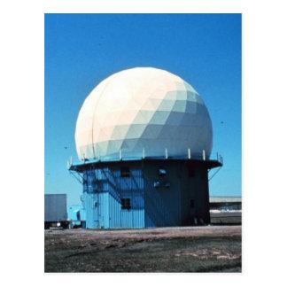 De Post van de Radar van het Weer van Doppler - Briefkaart