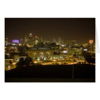 De Post van de Unie - de Stad van Kansas, Missouri Briefkaarten 0