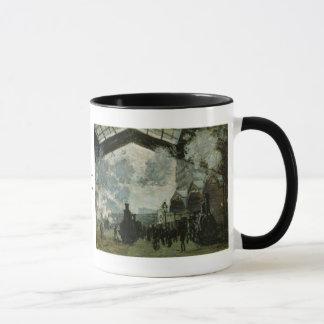 De Post van heilige Lazare door Claude Monet Mok
