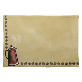 De Pot en de Bonen van de koffie Placemat