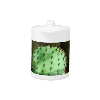 De Pot van de Thee van de Vijgcactus