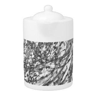 De Pot van de Thee van het Porselein van de Was