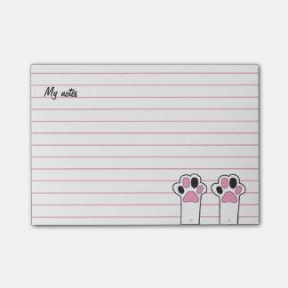 De poten van de kat post-it® notes