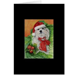 De Poten van de kerstman Briefkaarten 0
