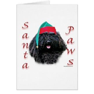 De Poten van de Kerstman van Puli Briefkaarten 0