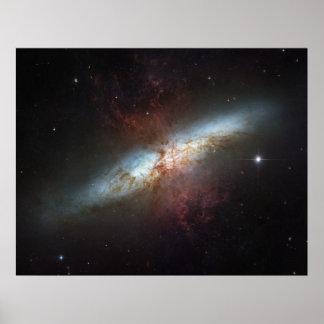 De prachtige Starburst Melkweg, Slordigere 82 Poster