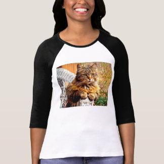 De prachtige T-shirt van de Wasbeer van Maine