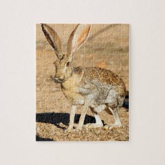 De prairiehaasportret van de antilope, Arizona Legpuzzel