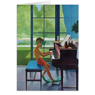 De Praktijk van de Piano van Poolside Kaart