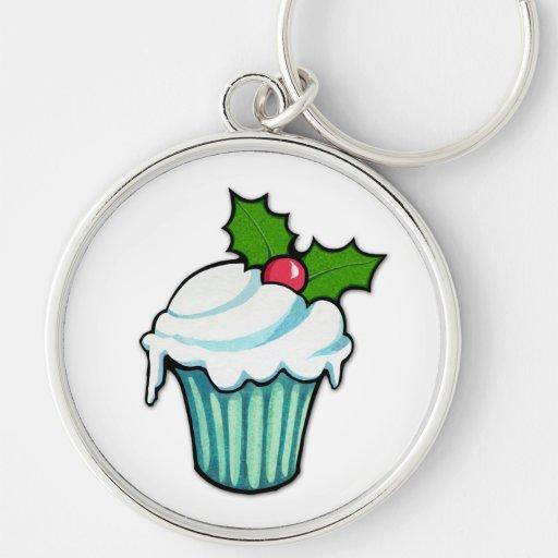 De Premie Keychain van Cupcake van de Hulst van Ke Sleutel Hanger