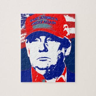 De Presidentiële Kandidaat van Donald Trump 2016 Puzzel
