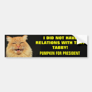 De presidentiële Slogan van de Campagne Bumpersticker
