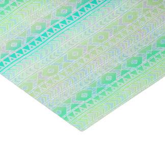 De pret Aztec beïnvloedde het Groene Turkoois van 25,4 X 38,1 Cm Zijdepapier
