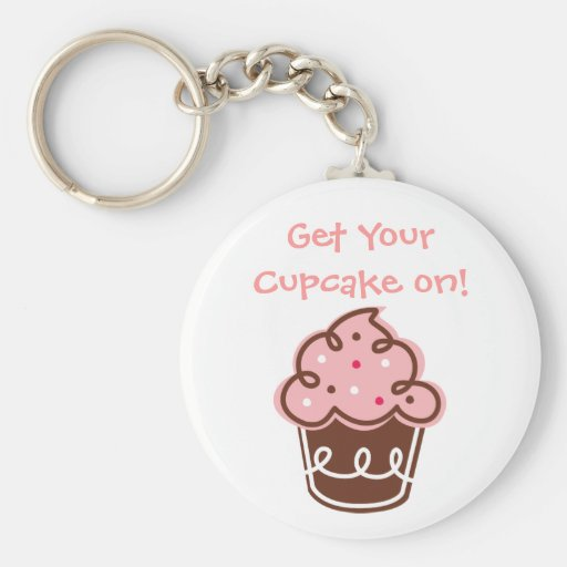 De pret leuke yummy zoete elegant van Cupcake keyc Sleutelhangers