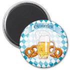 De Pretzels & het Bier van Oktoberfest Magneet