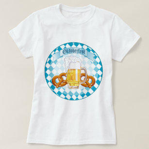 De Pretzels & het Bier van Oktoberfest T Shirt