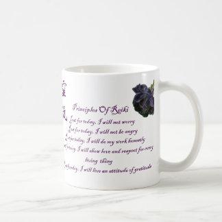 De Principes van Reiki enkel voor Vandaag Koffiemok