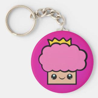 De Prinses Cupcake van Kawaii Basic Ronde Button Sleutelhanger