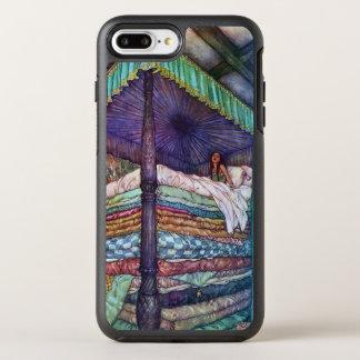 De prinses en de Erwt Edmund Dulac Fine Art OtterBox Symmetry iPhone 8 Plus / 7 Plus Hoesje