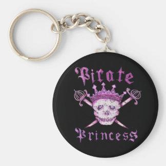 De Prinses Keychain van de piraat Sleutelhanger