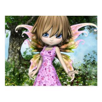 De Prinses van de Fee van Lil Briefkaart