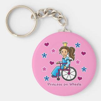 De Prinses van de rolstoel Sleutelhanger
