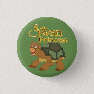 De prinses van de Zwaan - de Groene knoop van de Ronde Button 3,2 Cm