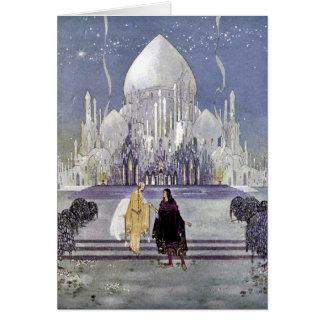De Prinses van het sprookje door de Kaart van