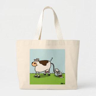 De Printer van de koe Draagtas