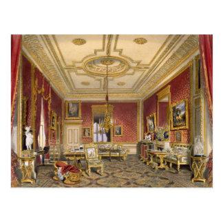 De privé Woonkamer van de Koningin, Kasteel Briefkaart