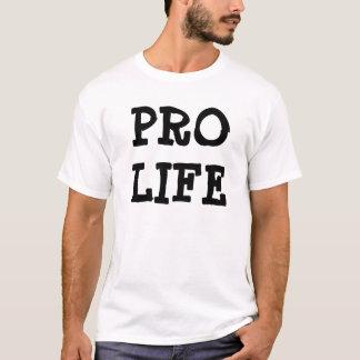 De pro Witte T-shirt van het Leven