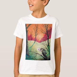 """De Producten die van de uil """"Soren kenmerken: Uil T Shirt"""