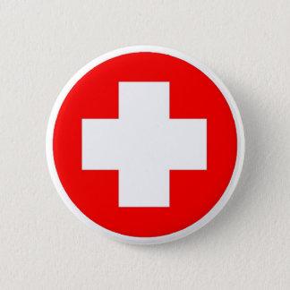 De Producten & het Design van het Rode Kruis! Ronde Button 5,7 Cm