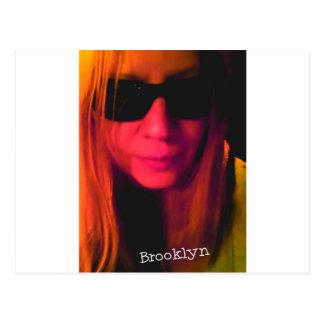 De Producten van Brooklyn van de zonnebril Briefkaart