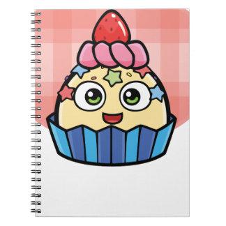 De Producten van Cupcake van het boe-geroep Notitieboek