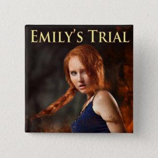 De ProefSpeld van Emily Vierkante Button 5,1 Cm