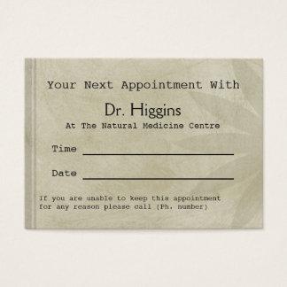 De professionele Bloemen Medische TandBenoeming Visitekaartjes