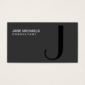 De professionele Elegante Moderne Zwarte van het Visitekaartjes