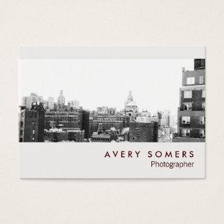 De professionele Fotografie van het Tussenvoegsel Visitekaartjes
