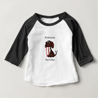 De professionele Leurder van de Hond Baby T Shirts
