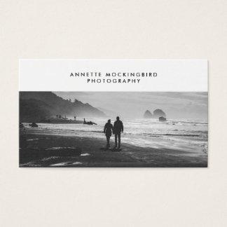 De professionele Minimalistische Fotografie van de Visitekaartjes