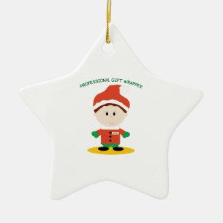 De professionele Omslag van de Gift Keramisch Ster Ornament