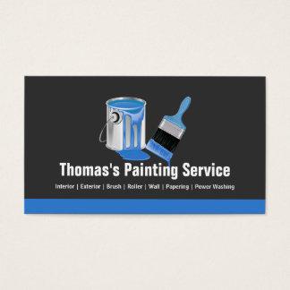 De professionele Schilderende Dienst - de Blauwe Visitekaartjes
