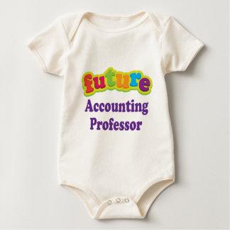 De Professor van de boekhouding (Toekomst) voor Baby Shirt
