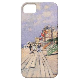 De promenade in Trouville Claude Monet Barely There iPhone 5 Hoesje