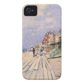 De promenade in Trouville Claude Monet iPhone 4 Hoesje