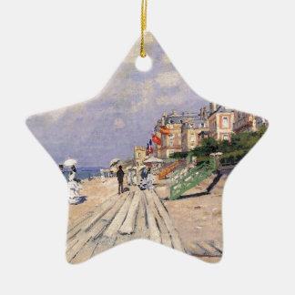 De promenade in Trouville Claude Monet Keramisch Ster Ornament