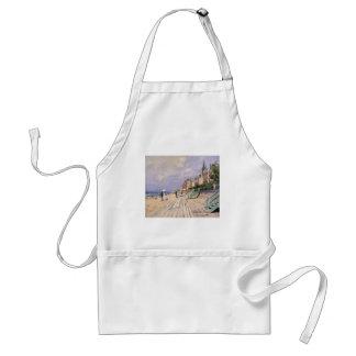 De promenade in Trouville Claude Monet Standaard Schort
