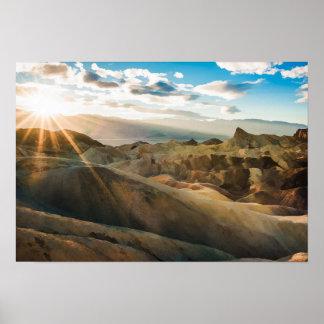 De Provincie Californië van Inyo van de Vallei van Poster