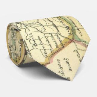 De Provincie van Surrey, de Kaart van Grayshott Stropdas